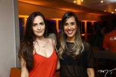 Fernanda Soares e Raissa Oliveira