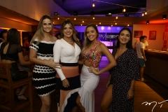 Raissa Costa, Bruna Rafaela, Evila Oliveira e Izabela Maciel