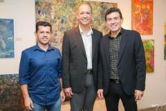 Erick Vasconcelos, Regis Medeiros e Alexandre Pereira