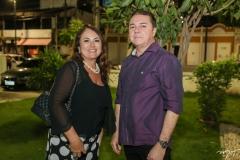 Luiza Costa Lima e Eliseu Barros