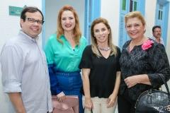 Rafael Rodrigues, Enid Câmara, Suemi Vasconcelos e Priscila Cavalcante