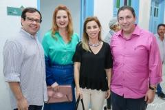 Rafael Rodrigues, Enid Câmara, Suemi Vasconcelos e Rodrigo Pereira