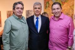 Totonho Laprovitera, Magno Câmara e Rodrigo Pereira