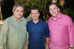 Totonho Laprovitera, Erick Vasconcelos e Rodrigo Pereira