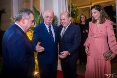Assis Cavalcante, Freitas Cordeiro, Roberto Claudio e Carol Bezerra