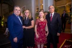 Assis, Edna Cavalcante, Célia e Bosco Macedo