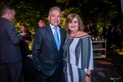 Claudio Soares e Monica Vidal