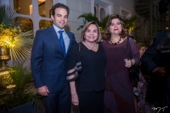 Drauzio Barros Leal, Marize Rolim e Lúcia Costa
