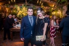 Ricardo Fenelon Junior e Amanda Lyra