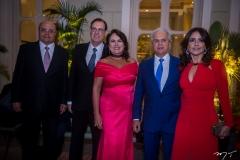 Fernando Cirino, Ana Luiza, Urbano Costa Lima, Ricardo e Denise Rolim