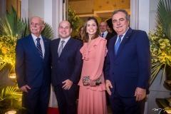 Freitas Cordeiro, Roberto Cláudio, Carol Bezerra e Assis Cavalcante