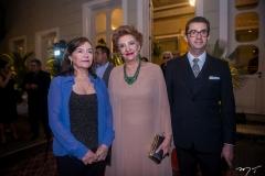 Helena Barreira, Tereza Borges e Alexandre Borba