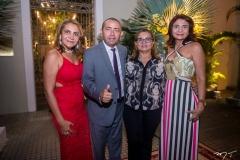 Leda Ferro, Paulo Albuquerque, Gorete Oliveira e Terezinha Abreu