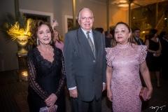 Maria José Arruda, Olívio Feitosa e Maria Perpétua Pinto