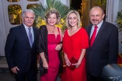 Pio, Stella Rolim, Carla e Honório Pinheiro