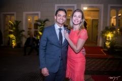 Rodrigo Burbom e Tazia Muniz