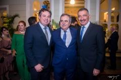 Samuel Dias, Assis Cavalcante e Artur Bruno