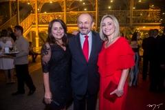 Valmira Paz, Honório e Carla Pinheiro