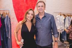 Ana Paula Daud e João Cateb Melo