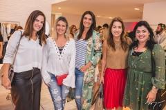 Ana Virginia Martins, Jeritza Gurgel, Ana Vladia Barreira, Viviane Almada e Synara Leal