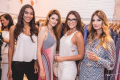 Anaiza Ferreira, Rafaela Tavares, Ysla Garcia e Milena Carrá