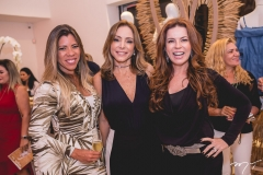 Chirlei Queiros, Ana Paula Daud e Claudia Quental