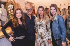 Claudia Quentel, Raphael Sahayoun, Chirlei Queiros e Angela Ghizzi