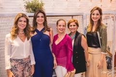 Inês de Castro e Rachel Teixeira, Camila Cavalcante, Michelinne Pinheiro e Sarah Alencar