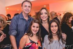 João Cateb, Ana Paula Daud, Luisa e Laura Melo