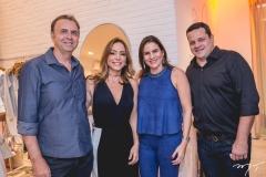 João Cateb Melo, Ana Paula Daud, Luciana e Augusto Borges