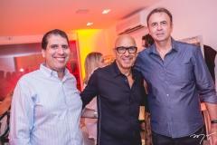 Jorge Cavalcante, Raphael Sahayoun e João Cateb