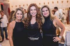 Katiane Valença, Claudia Quental e Germana Cavalcante