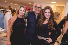 Katiane Valença, Raphael Sahayoun e Claudia Quental