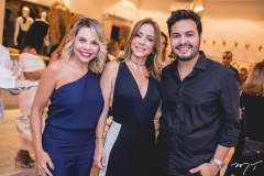Lilian Porto, Ana Paula Daud e Vinicius Machado