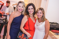 Lilian Porto, Niedja Bezerra e Vanessa Queirós