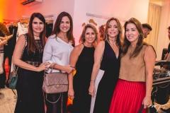 Lorena Pouchain, Ana Virginia Martins, Tatiane Valença, Ana Paula Daud e Ana Vladia Barreira