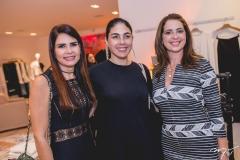 Lorena Pouchain, Izabela Fiúza e Márcia Andréa