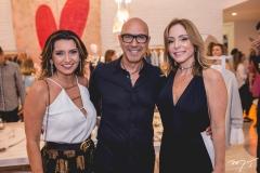 Márcia Travessoni, Raphael Sahayoun e Ana Paula Daud