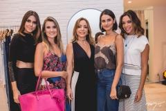 Mirelle Vasconcelos, Cintia Mendes, Ana Paula Daud, Lu Palhano e Priscila Áfio