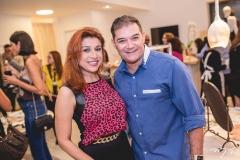 Patricia Porto e Luciano Rocha