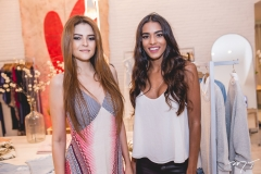 Rafaela Tavares e Anaiza Ferreira