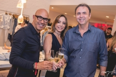 Raphael Sahayoun, Ana Paula Daud e João Cateb Melo