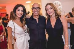 Synara Leal, Raphael Sahayoun e Ana Paula Daud
