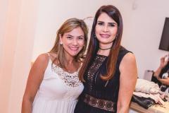 Vanessa Queirós e Lorena Pouchain