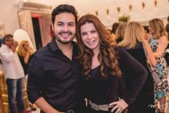 Vinicius Machado e Claudia Quental