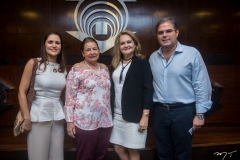 Manoela Queiroz Bacelar, Alzinete Pimentel, Lenise Queiroz E Edson Queiroz Neto
