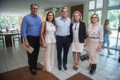Randal Pompeu, Manoela Queiroz Bacelar, Edson Queiroz Neto, Lenise Queiroz Rocha E Fátima Veras