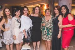 Ana Cristina Lima, Sirlangela Maurício, Márcia Andréa, Luiziane Cavalcante, Vera Costa, Suzane Farias e Izabeli Leitão