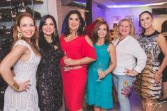 Ana Cristina Lima, Wânia Negromonte, Izabeli Leitão, Metoniza Vieira, Betinha Pessoa e Neusa Rocha