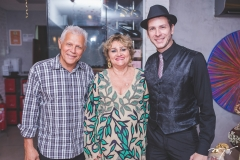 Antônio Costa, Vera Costa e Darlington Mesquita